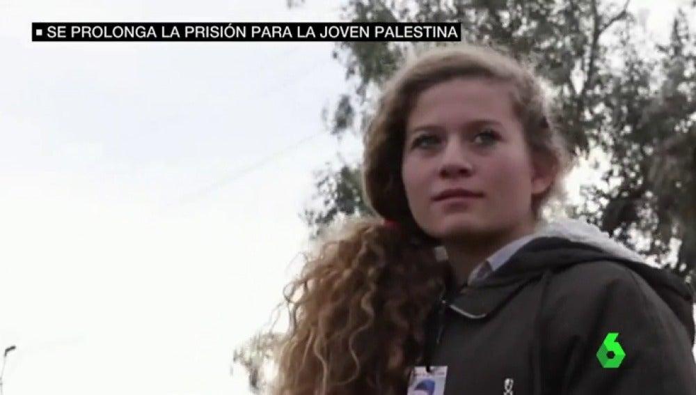 Ahed Tamimi, de 16 años