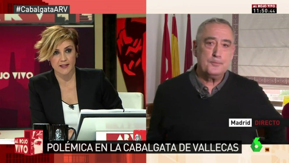 El concejal de Vallecas Francisco Pérez Ramos