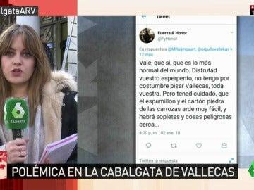'Orgullo Vallecano' denuncia amenazas en redes