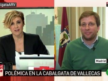 El portavoz del PP en el Ayuntamiento de Madrid, José Luis Martínez-Almeida