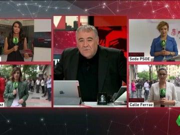 El especial de Al Rojo Vivo en las primarias del PSOE