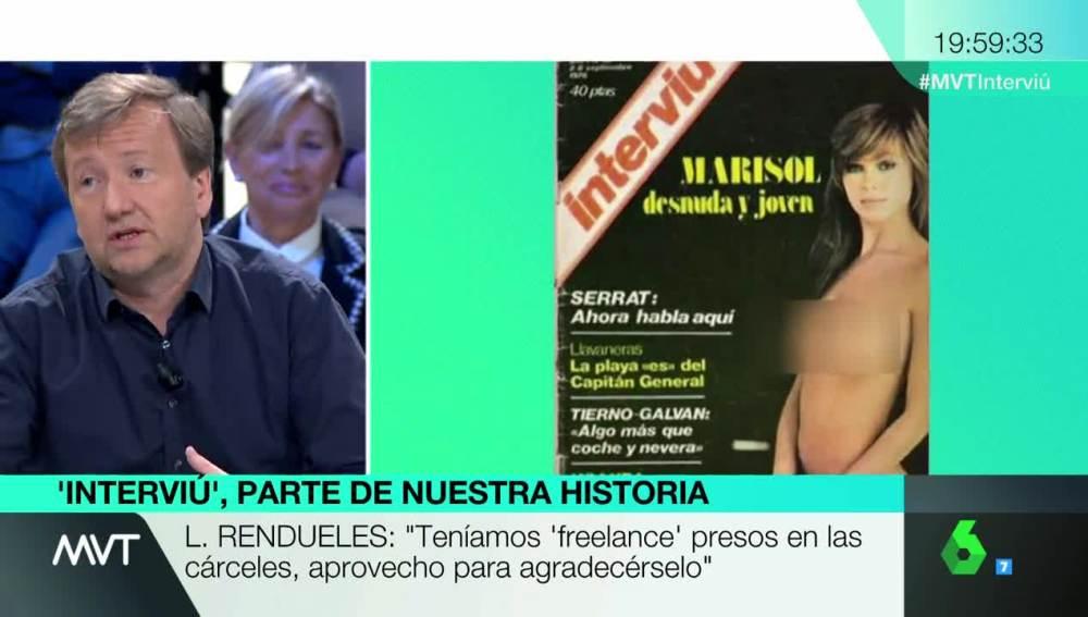 Luis Rendueles No Sé Si Hemos Mejorado Mucho En 35 Años Facebook Ha Censurado La Portada De Marisol De 1976