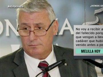 El consejero de Bienestar de Melilla, Daniel Ventura