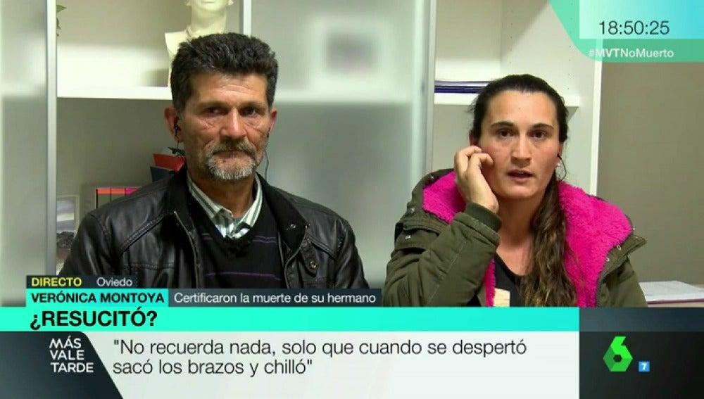 Familiares de Gonzalo Motoya