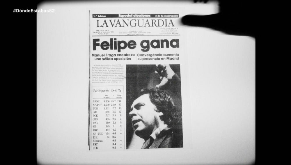 Felipe González - Dónde estabas entonces