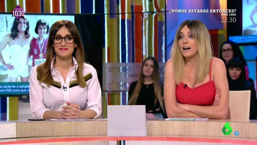 Ana Morgade y Anna Simon