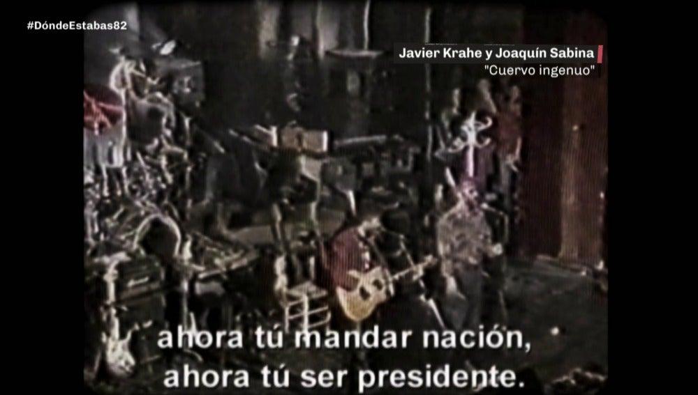 Joaquin Sabina y Javier Krahe