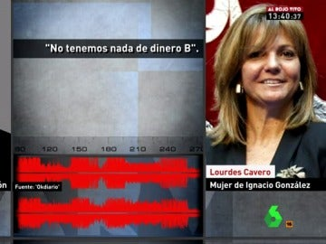 Lourdes Cavero declarando