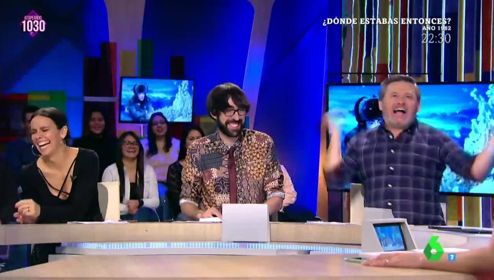 El 'sexy' contoneo de Miki Nadal al estilo 'Pedroche'