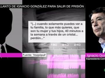La declaración ante el juez de Ignacio González