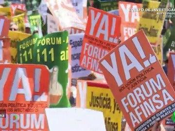 Entre la intervención del PSOE y las promesas del PP: cuando la política se olvidó de los afectados por el Fórum Filatélico
