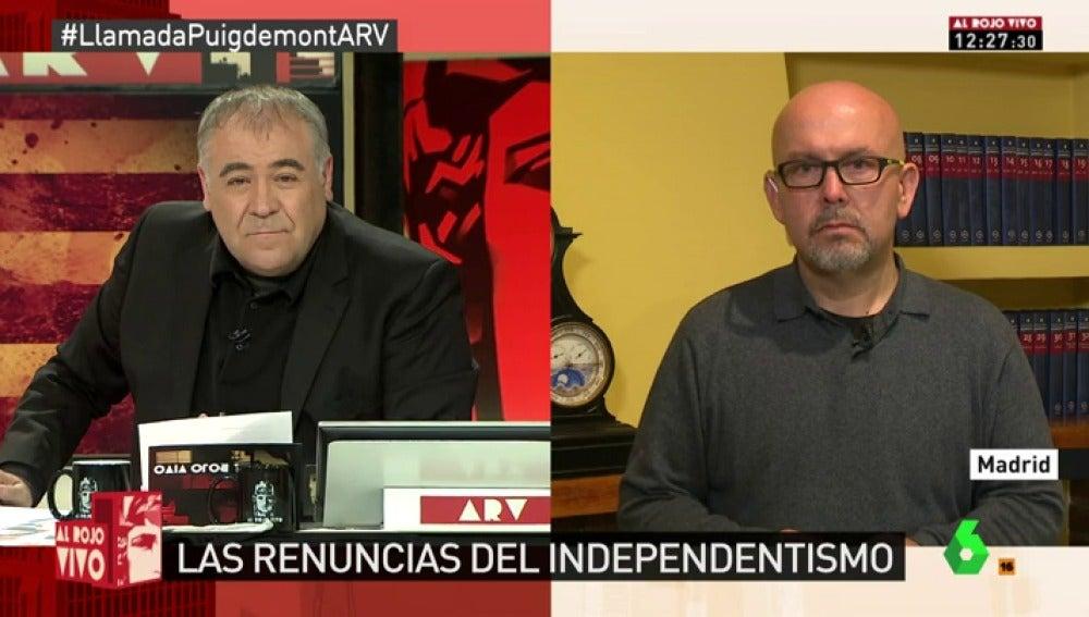 Gonzalo Boye, abogado de los exconsellers Meritxell Serret y Toni Comín
