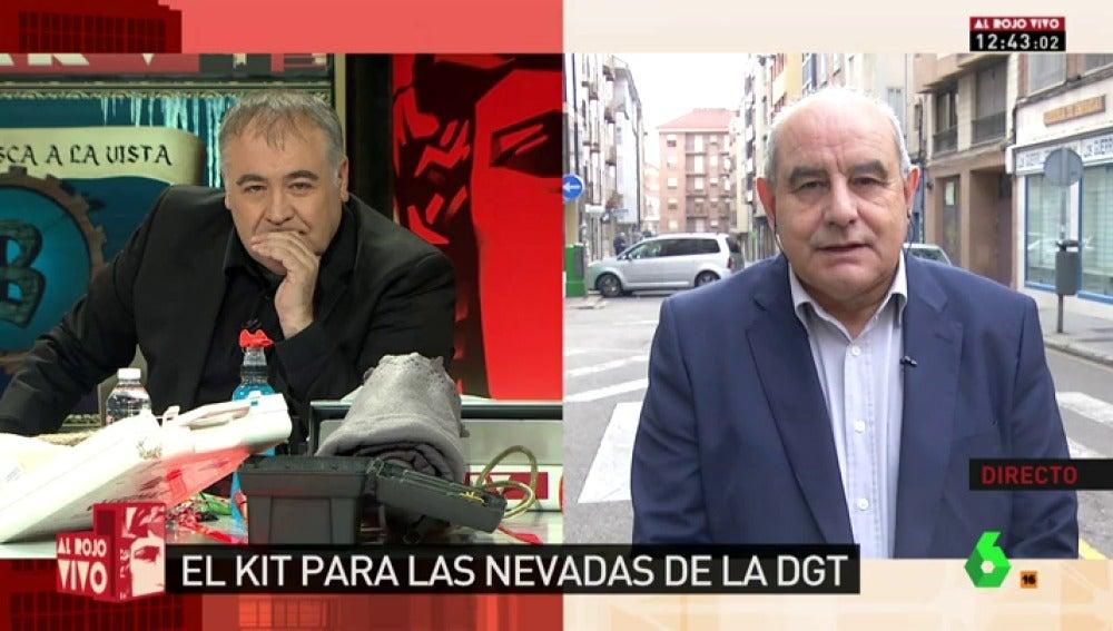 El impulsor de la plataforma de afectados por la nevada en la AP-6, Antonio Rodríguez