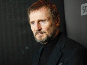 Liam Neeson en la premier de 'The Commuter'