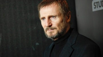 Liam Neeson en la premier de 'The Commuter'