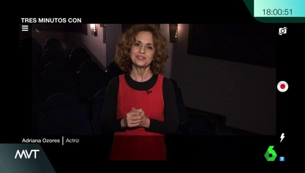 La actriz Adriana Ozores