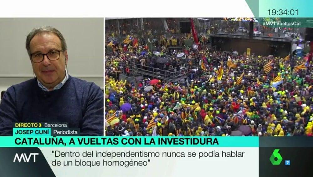 El periodista Josep Cuní