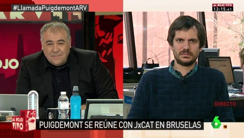 El portavoz de Catalunya en Comú, Ernest Urtasun