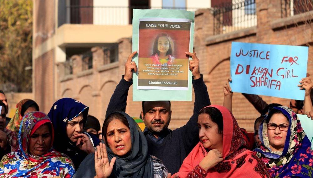 Protestas en Pakistán por un caso similar