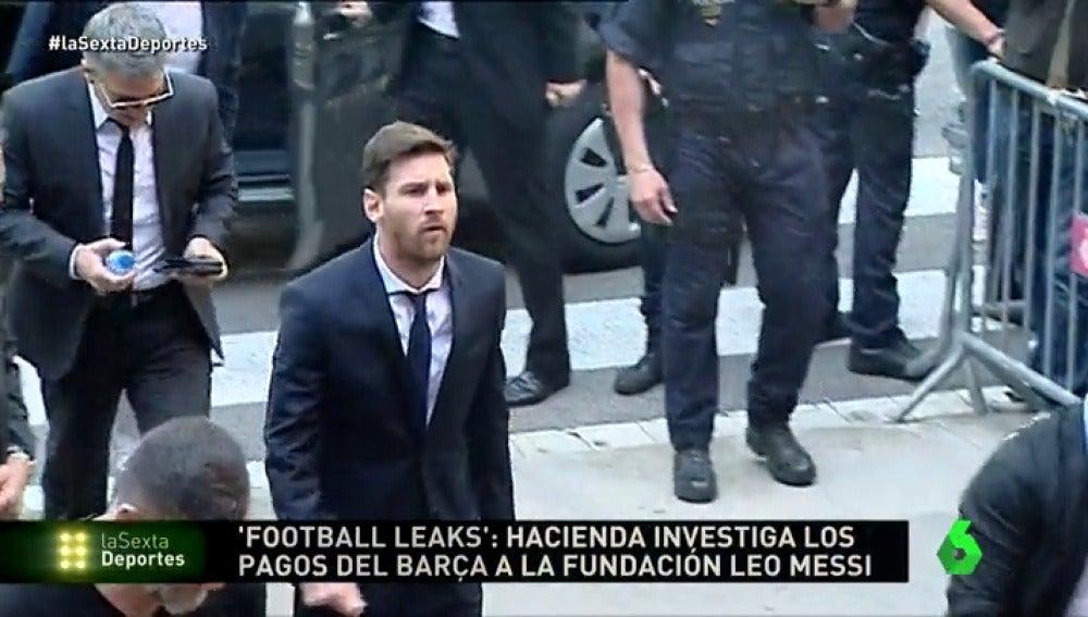 Hacienda investiga los pagos del Barcelona a la Fundación Leo Messi, según 'Football Leaks'