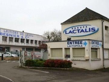 La fábrica de Lactalis en Francia