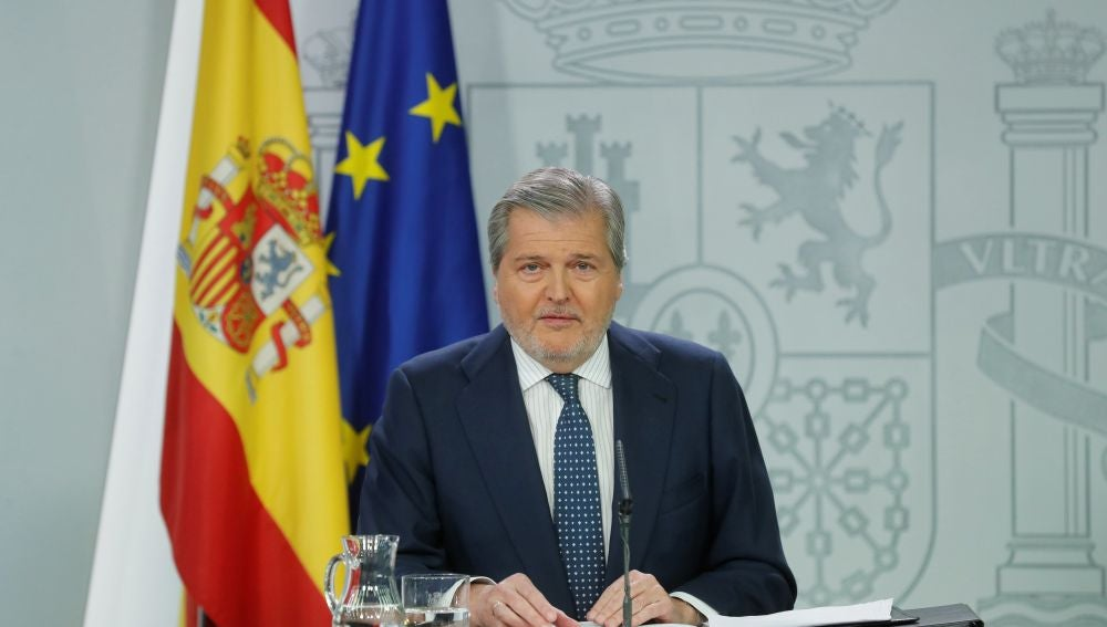 El portavoz del Gobierno, Íñigo Méndez de Vigo