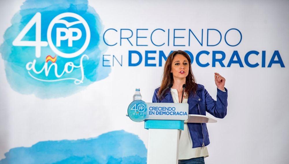 La vicesecretaria de Estudios y Programas del Partido Popular, Andrea Lev