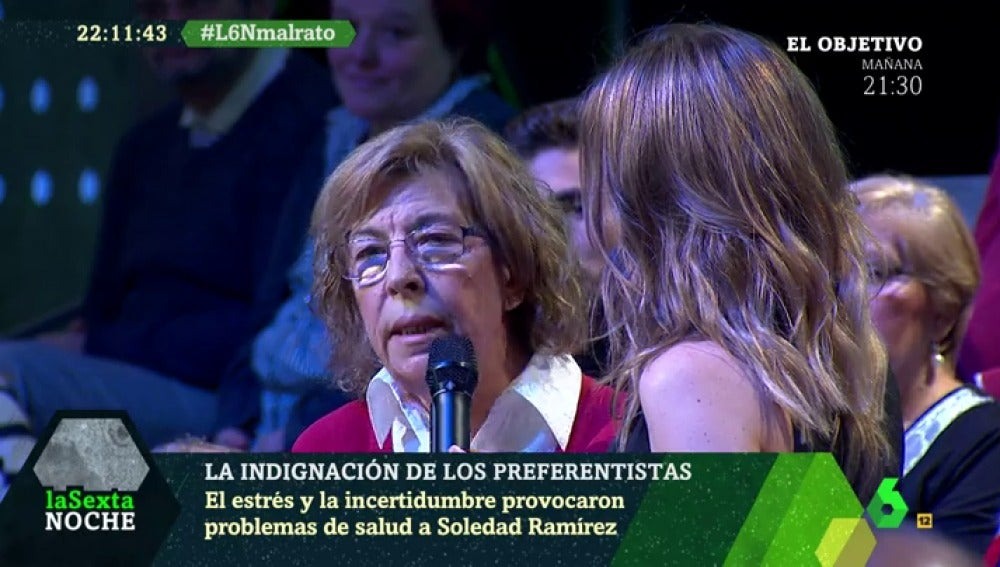 Soledad y su marido perdieron 70.000 euros con las preferentes