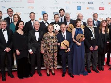 Premiados en la gala de entrega de la 23 edición de los Premios Forqué,
