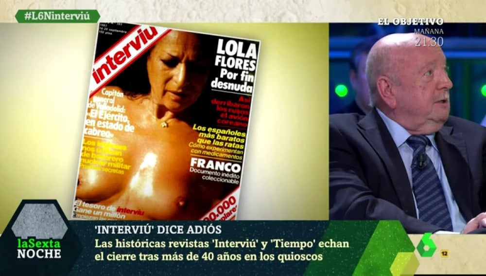 Miguel Ángel Gordillo, exdirector de la revista 'Interviú'