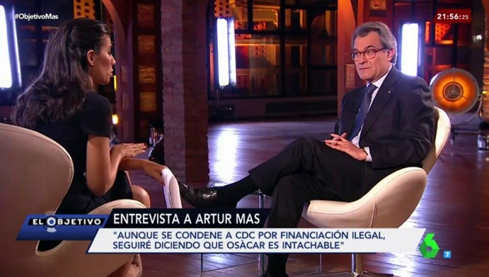 El expresident de la Generalitat, Artur Mas
