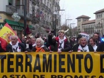 Concentración en Granada en contra del 'aislamiento ferroviario'