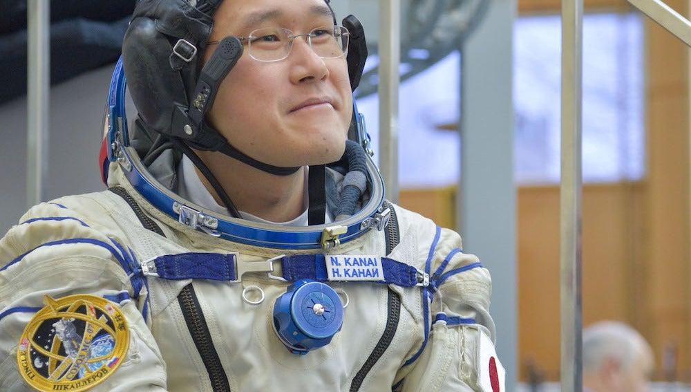 El astronauta japonés Norishige Kanai permanecerá seis meses en la EEI