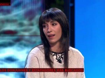 Aurora Arbizu, víctima de Rodrigo Nogueira