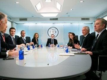 Imagen de archivo de la Junta Directiva del PP