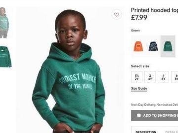 Imagen de la polémica sudadera de H&M