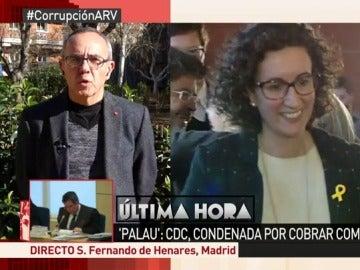 Joan Coscubiela, en Al Rojo Vivo
