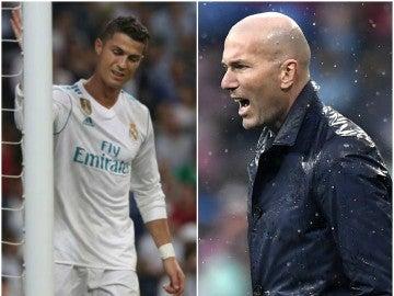Cristiano y Zidane, señalados