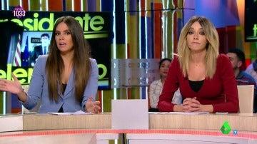 Cristina Pedroche y Anna Simon
