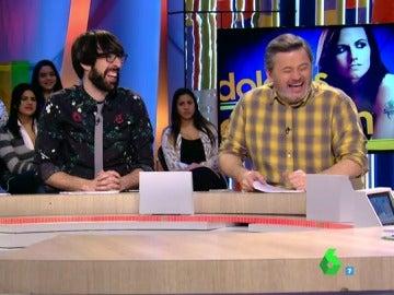 Paula Prendes, Quique Peinado y Miki Nadal