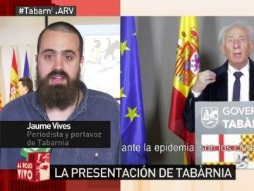Jaume Vives, en Al Rojo Vivo