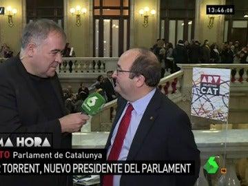 Miquel Iceta, en Al Rojo Vivo