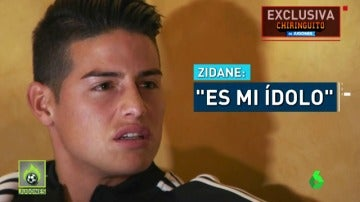 James repasa su salida del Madrid
