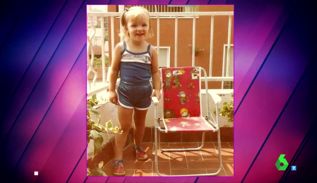 La tierna foto de Anna Simon de pequeña