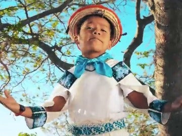 Yuawi López, en el vídeo del Movimiento Naranja