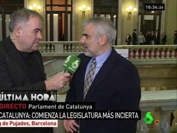 Carlos Carrizosa responde a García Ferreras