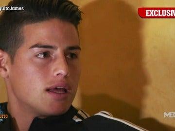 """James Rodríguez, en 'El Chiringuito': """"No puedo aceptar que se dijese que entrenaba mal"""""""