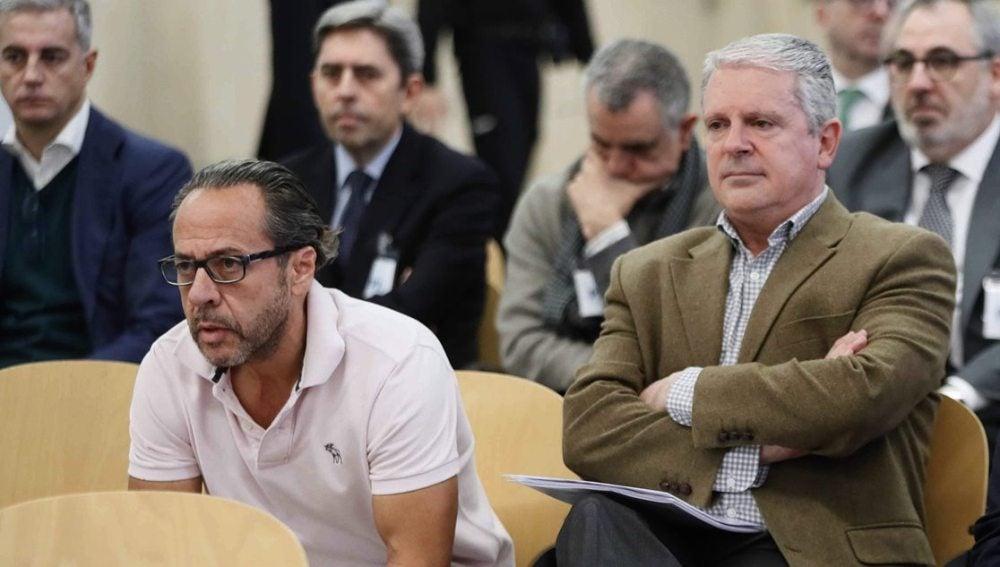 El Bigotes y Pablo Crespo