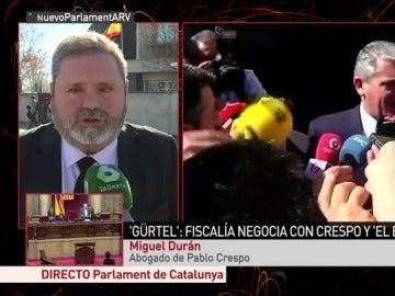 Miguel Durán, en Al Rojo Vivo