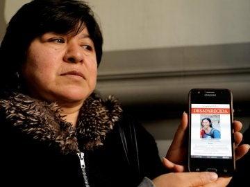 Alejandra Ayala, madre de Nathaly Salazar